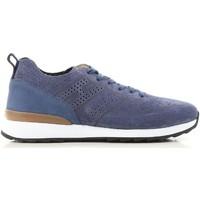 Cipők Férfi Rövid szárú edzőcipők Hogan HXM2610K200IHHU803 blu