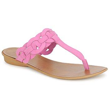 Cipők Női Lábujjközös papucsok Esprit KARAYAN TONGUE Fukszia
