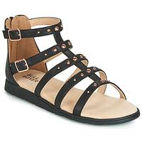 Cipők Lány Szandálok / Saruk Bullboxer AGG021 Fekete
