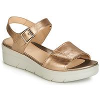 Cipők Női Szandálok / Saruk Stonefly AQUA III 2 LAMINATED Arany