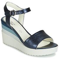 Cipők Női Szandálok / Saruk Stonefly ELY 7 LAMINATED LTH Kék