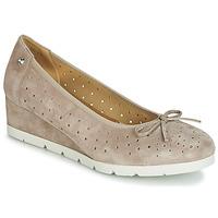 Cipők Női Balerina cipők  Stonefly MILLY 2 GOAT SUEDE Bézs