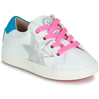Cipők Lány Rövid szárú edzőcipők Acebo's STARWAY Fehér