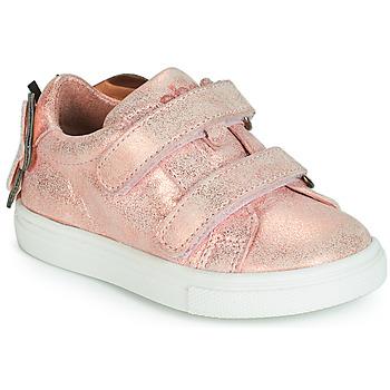 Cipők Lány Rövid szárú edzőcipők Acebo's BAMBU Rózsaszín
