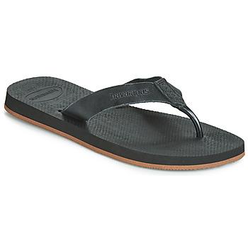 Cipők Férfi Lábujjközös papucsok Havaianas URBAN SPECIAL Fekete
