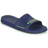 Cipők strandpapucsok Havaianas SLIDE BRASIL Kék