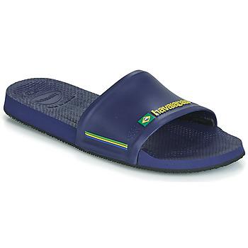 Cipők Férfi strandpapucsok Havaianas SLIDE BRASIL Kék