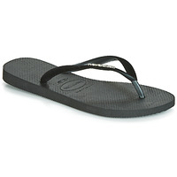 Cipők Női Lábujjközös papucsok Havaianas SLIM VELVET Fekete