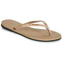 Cipők Női Lábujjközös papucsok Havaianas YOU MAXI Rózsaszín / Arany