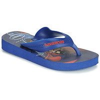 Cipők Fiú Lábujjközös papucsok Havaianas KIDS MAX HEROIS Kék