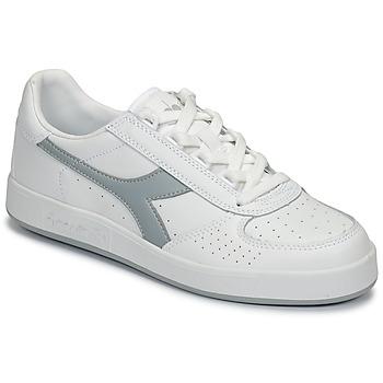 Cipők Rövid szárú edzőcipők Diadora B ELITE Fehér / Szürke