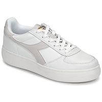 Cipők Női Rövid szárú edzőcipők Diadora B ELITE WIDE Fehér / Tópszínű