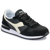 Cipők Rövid szárú edzőcipők Diadora CAMARO Fekete  / Fehér