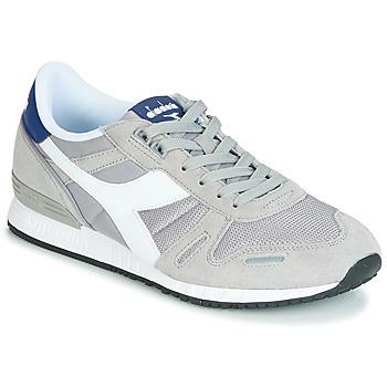 Cipők Férfi Rövid szárú edzőcipők Diadora TITAN II Szürke / Kék