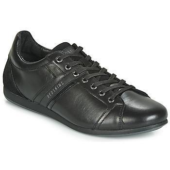 Cipők Férfi Rövid szárú edzőcipők Redskins WASEK II Fekete