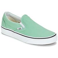 Cipők Női Belebújós cipők Vans CLASSIC SLIP-ON Zöld