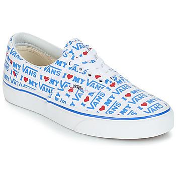 Cipők Női Rövid szárú edzőcipők Vans ERA Fehér / Kék