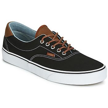 Cipők Férfi Rövid szárú edzőcipők Vans ERA 59 Fekete