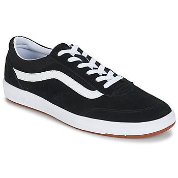 Cipők Férfi Rövid szárú edzőcipők Vans CRUZE Fekete