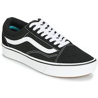 Cipők Rövid szárú edzőcipők Vans COMFYCUSH OLD SKOOL Fekete  / Fehér