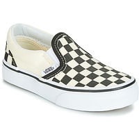 Cipők Gyerek Belebújós cipők Vans CLASSIC SLIP-ON Fekete  / Fehér