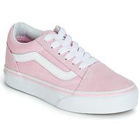 Cipők Lány Rövid szárú edzőcipők Vans OLD SKOOL Rózsaszín