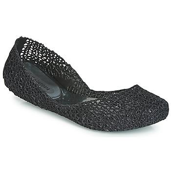 Cipők Női Balerina cipők / babák Melissa CAMPANA PAPEL VII Fekete