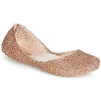 Cipők Női Balerina cipők / babák Melissa CAMPANA PAPEL VII Fekete  / Bronz