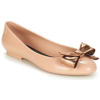 Cipők Női Balerina cipők / babák Melissa DOLL III Bézs / Bronz