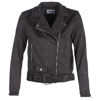 Ruhák Női Bőrkabátok / műbőr kabátok Noisy May NMCHRIZZY Fekete