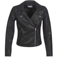 Ruhák Női Bőrkabátok / műbőr kabátok Noisy May NMREBEL Fekete