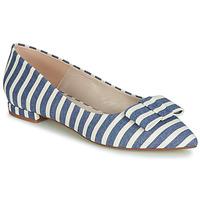 Cipők Női Balerina cipők / babák Fericelli JILONOU Kék / Fehér