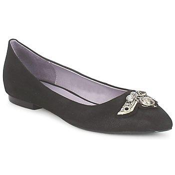 Cipők Női Balerina cipők / babák Couleur Pourpre TIMEA Fekete