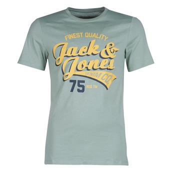 Ruhák Férfi Rövid ujjú pólók Jack & Jones JJELOGO Zöld