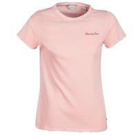 Ruhák Női Rövid ujjú pólók Maison Scotch SS T-SHIRT Rózsaszín