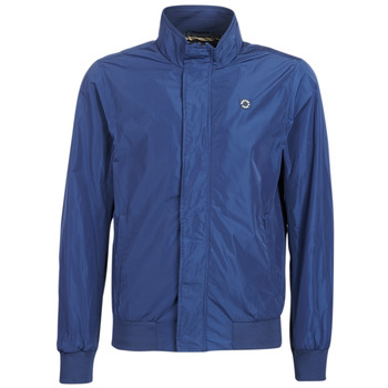 Ruhák Férfi Dzsekik Scotch & Soda AMS BLAUW SIMPLE HARRINGTON JACKET Tengerész