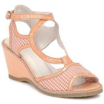 Cipők Női Szandálok / Saruk Mosquitos HOURA Narancssárga