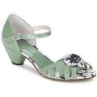 Cipők Női Szandálok / Saruk Mosquitos AMICALE Zöld / Víz