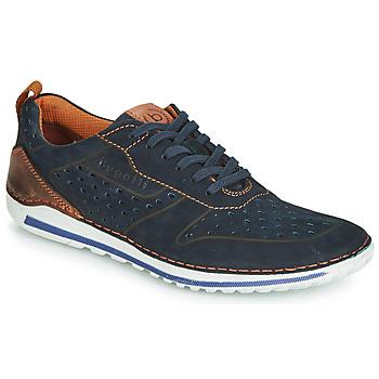 Cipők Férfi Rövid szárú edzőcipők Bugatti TIPPO Kék