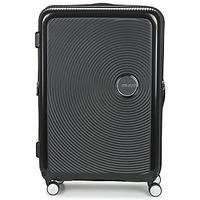 Táskák Keményfedeles bőröndök American Tourister SOUNDBOX 77CM 4R Fekete