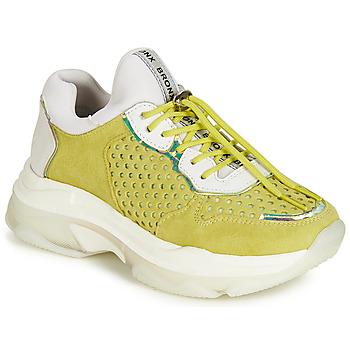 Cipők Női Rövid szárú edzőcipők Bronx BAISLEY Citromsárga
