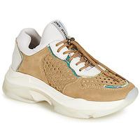 Cipők Női Rövid szárú edzőcipők Bronx BAISLEY Fehér / Barna