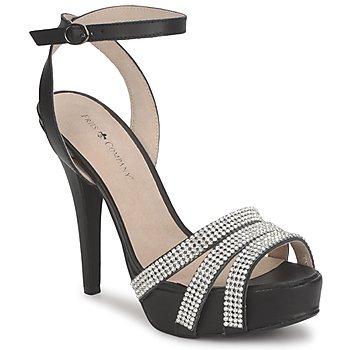 Shoes Női Szandálok / Saruk Friis & Company CORTNAY Fekete