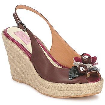 Shoes Női Szandálok / Saruk C.Petula GLORIA Barna / Fukszia