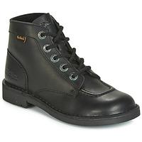 Cipők Női Csizmák Kickers KICK COL Fekete