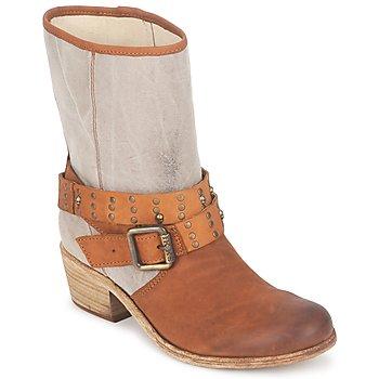 Shoes Női Városi csizmák Ikks INES Barna / Tópszínű