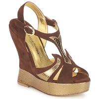 Cipők Női Szandálok / Saruk Terry de Havilland FARAH Csokoládé