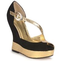 Cipők Női Szandálok / Saruk Terry de Havilland PENNY Fekete-arany