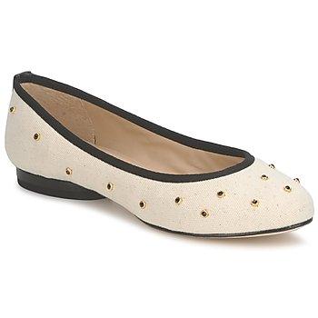 Cipők Női Balerina cipők  Kat Maconie DELILAH Fehér / Tört / Fekete