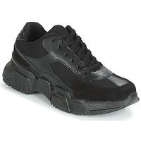 Cipők Női Rövid szárú edzőcipők Yurban JILIBELLE Fekete